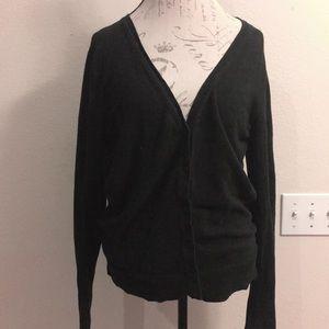 Merona Black Cardigan Size XL